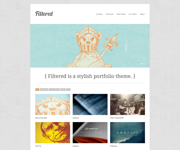 20 Quality WordPress Themes For Design Studios