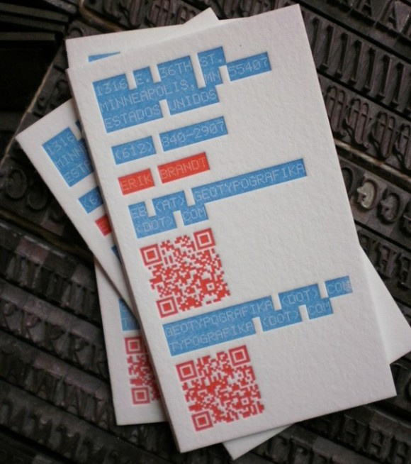 Inspiration: 21 New Business Cards From February 2012 (4)