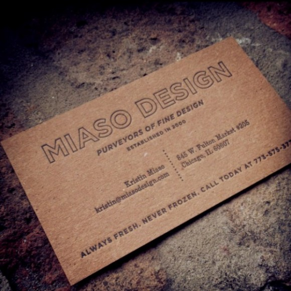 Inspiration: 21 New Business Cards From February 2012