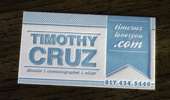 Inspiration: 21 New Business Cards From February 2012 (2)