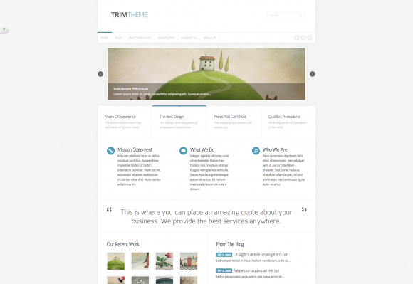 20 New Minimalist WordPress Themes