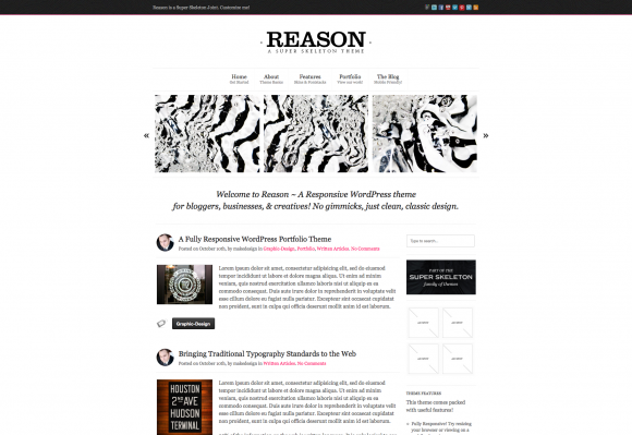 New Minimalist WordPress Themes