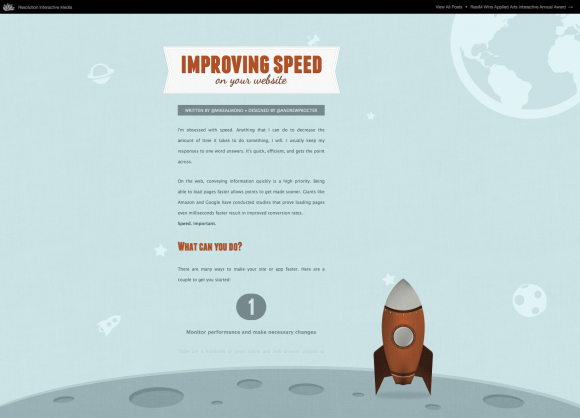 Showcase: The Parallax Scrolling Effect In Web Design