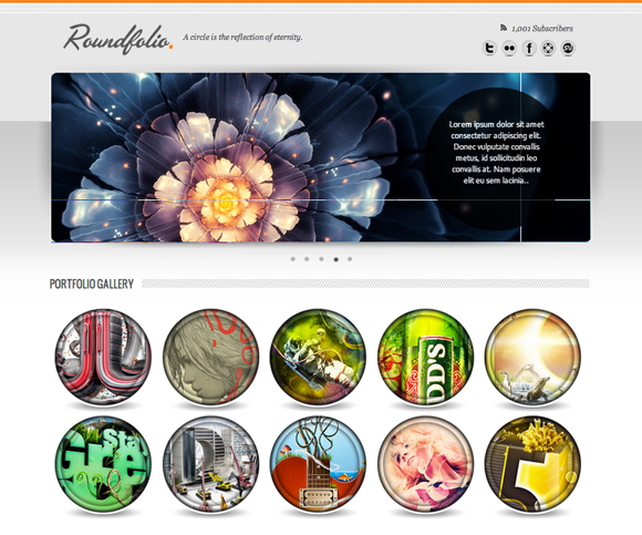 Roundfolio Video Tutorial – Free One Page Portfolio Template
