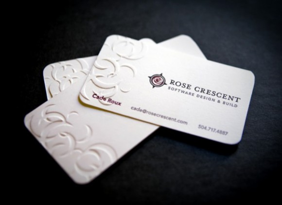 15 gorgeous embossed business cards colourmoves