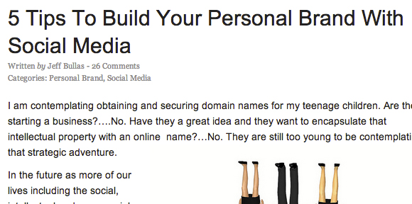 5 Tips To Build Your Personal Brand With Social Media