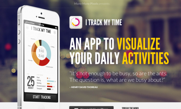 A Showcase Of iPhone App Landing Page Designs