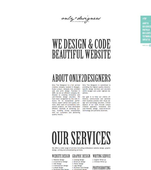 A Look Into The Effective Use Of Whitespace In Design
