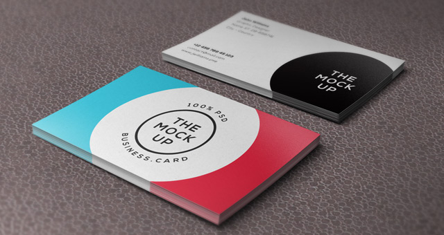 10 useful business card mockup templates colourmoves