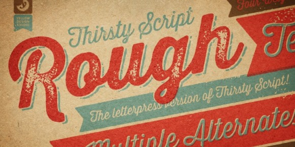 Retro Fonts: New Additions For Your Font Collection