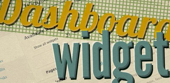 WordPress Tutorial: Create Your Custom WordPress Dashboard Widget