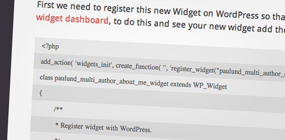 Create A Multi Author About Me WordPress Widget