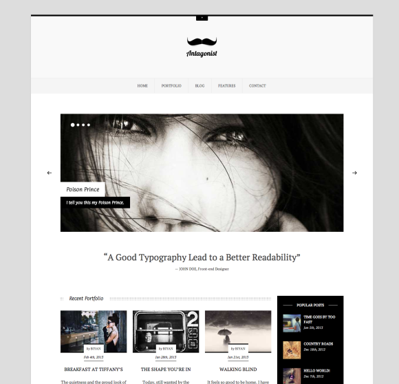 25 Minimal & Responsive WordPress Themes