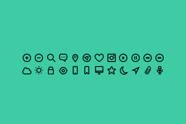 Designer Toolbox: 11 Free Icon Sets