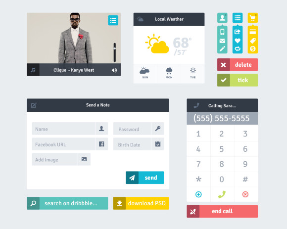 Best Free & Paid UI Kits