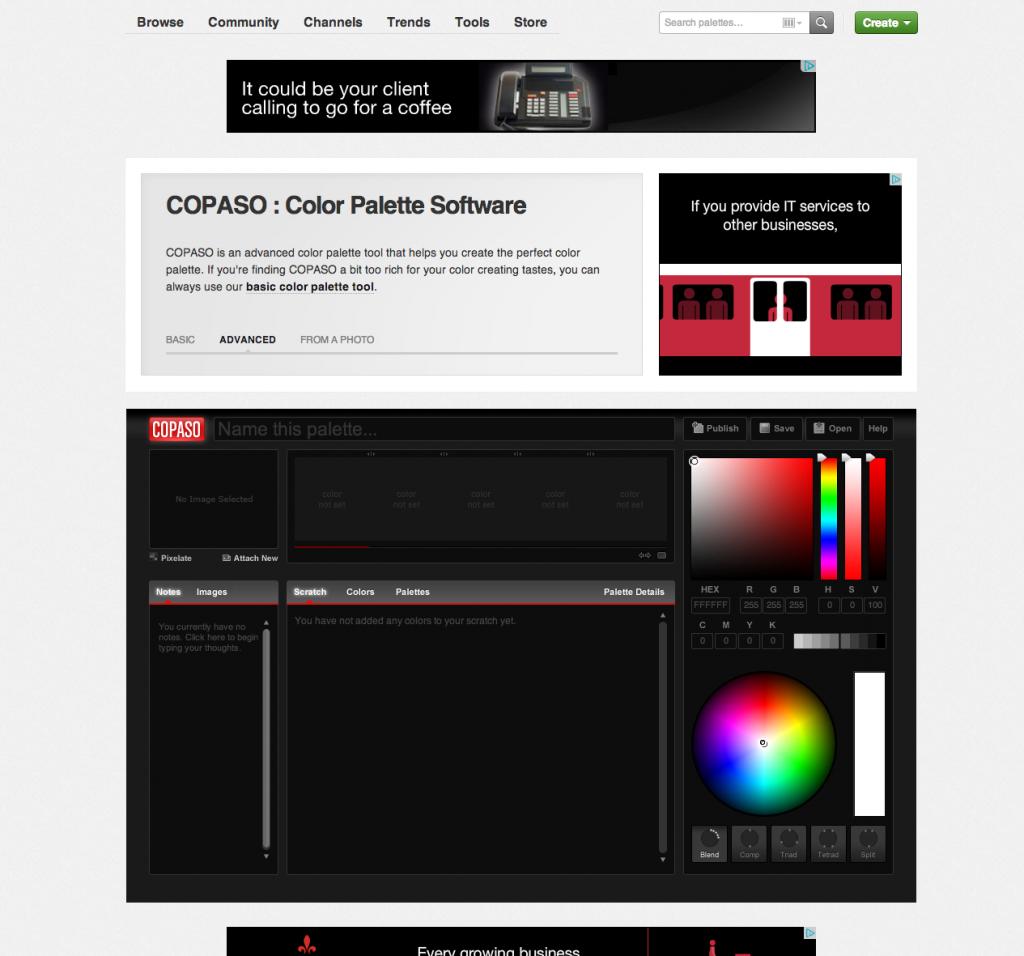 10 Alternative Color Palette Tools For Designers