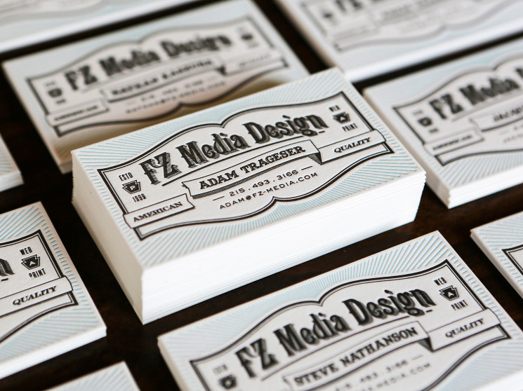 A Collection Vintage Business Card Designs
