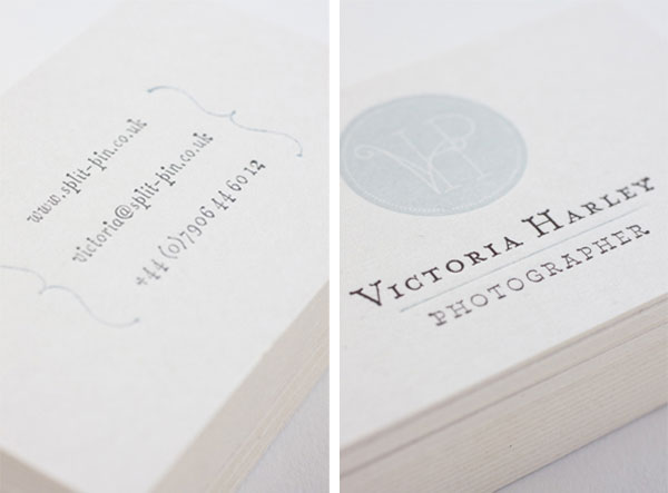 Inspiration: A Collection Vintage Business Card Designs