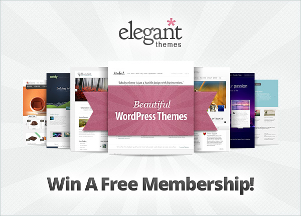 Elegant Themes Membership Giveaway