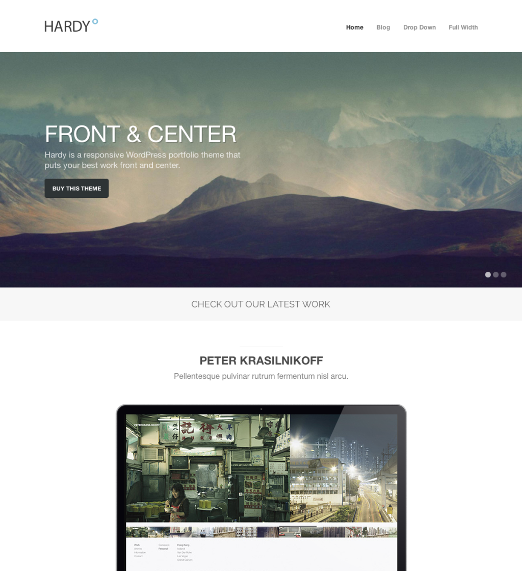 30 Perfect WordPress Photography Themes