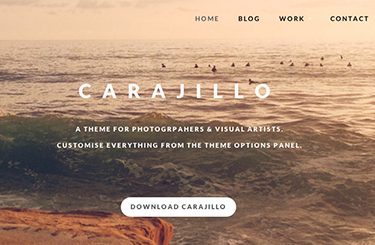 Carajillo WordPress Theme