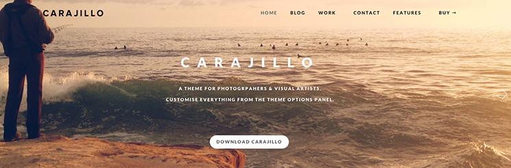 Carajillo WordPress Theme