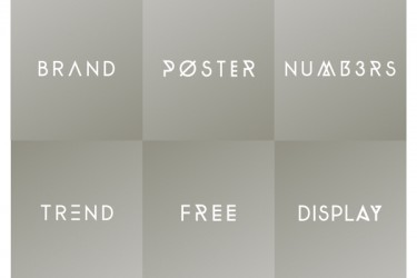 Designer Toolbox: A Collection Of Useful & New Fonts
