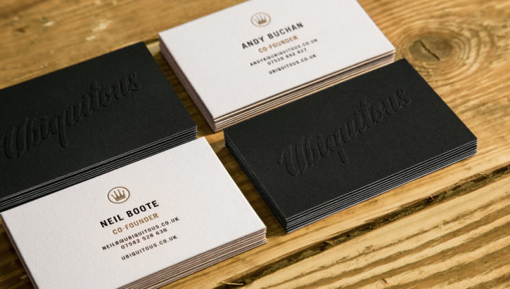 Inspiration: Typography Use In Business Card Design