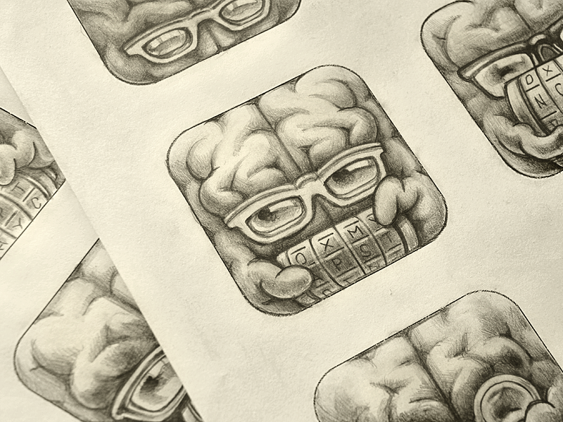 An Inspirational Collection Of Icon Sketches