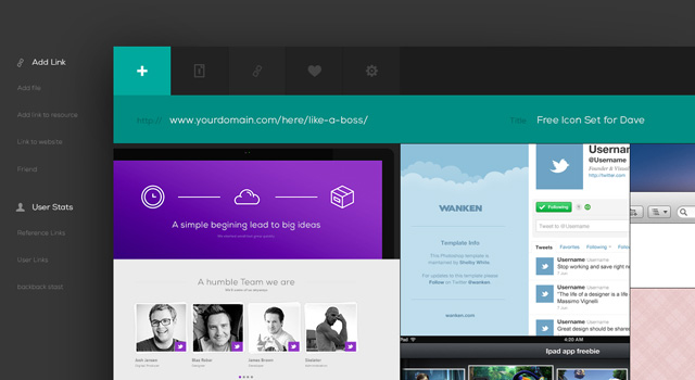 10 Beautiful & Free Website PSDs