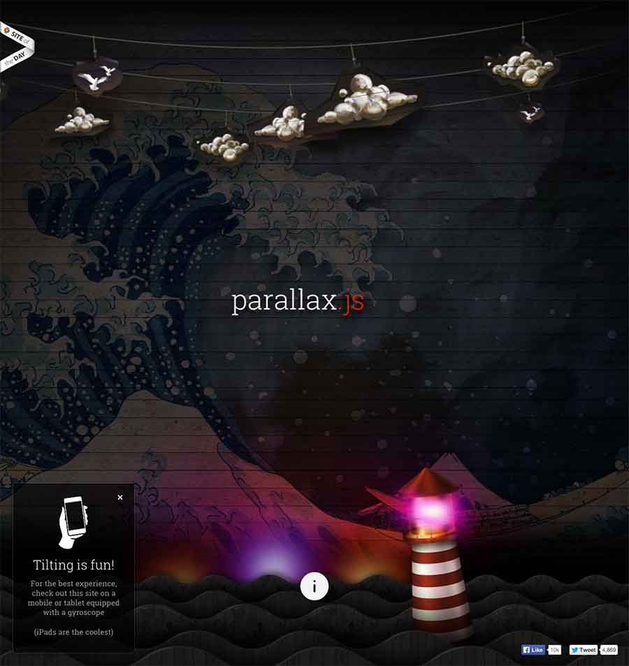 7 Useful Parallax jQuery Plugins