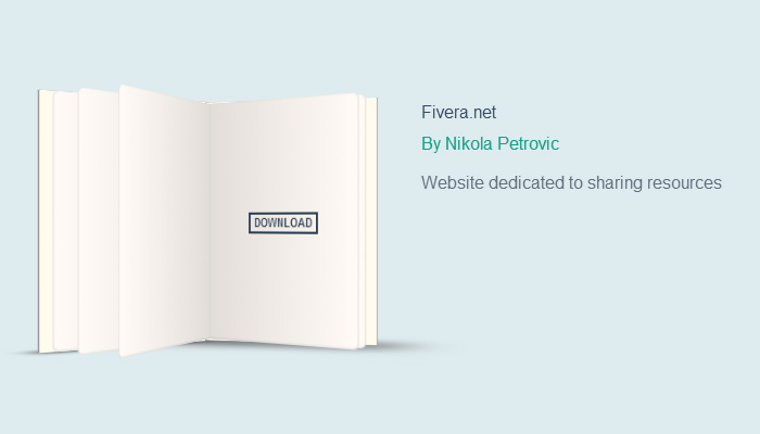 animated css book ui design open source
