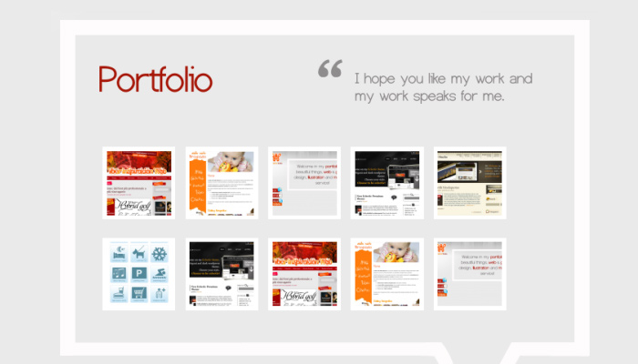 free portfolio template design download html css jquery portfolio single page layout