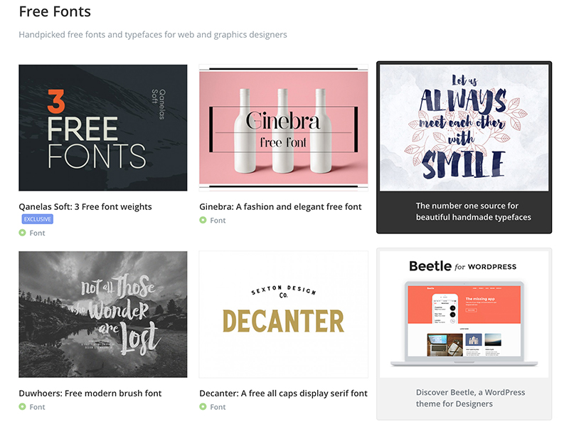 15 Best Websites to Download Free Fonts