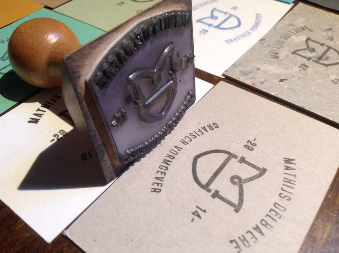 15 Cool Rubber Stamp Business Cards