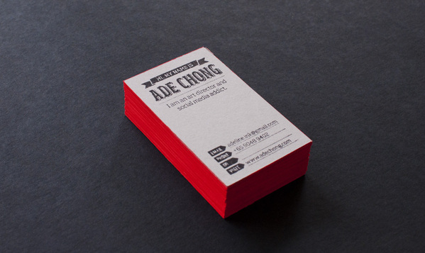 15 cool stamp business cards ade chong colourmoves