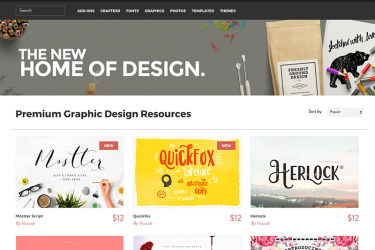 The Hungry JPEG - Graphic Design Resources for Designers