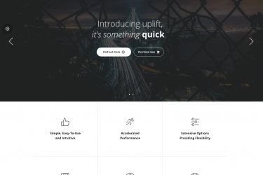 Meet Uplift: A Multi-purpose Drag & Drop WordPress Theme